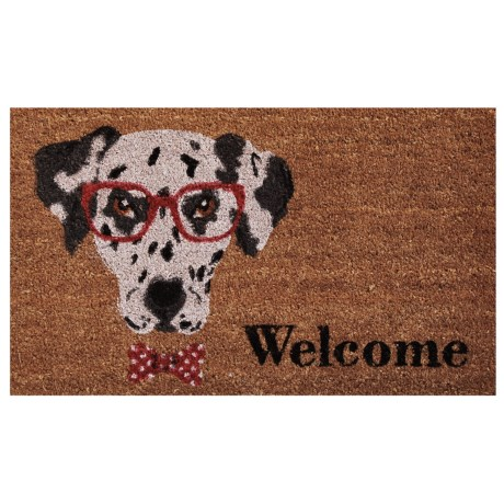 "Home and More ""Mr. Belvodore"" Coir Doormat - 17x29"""