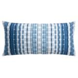 "Artisan de Luxe Fairway Tie-Dye Decor Pillow - 17x35"", Feathers"