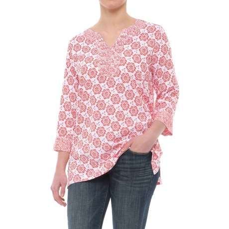 Nomadic Traders Tori Tunic Shirt - 3/4 Sleeve (For Women)