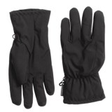 Weatherproof Soft Shell Pieced Back Gloves - Insulated (For Men)