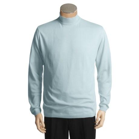 Raffi Mock Neck Shirt - Cotton-Rich, Long Sleeve (For Men)