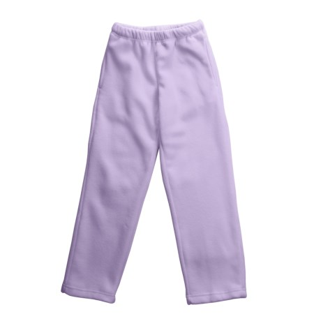 Pink Dot Fleece Pants (For Youth Girls)