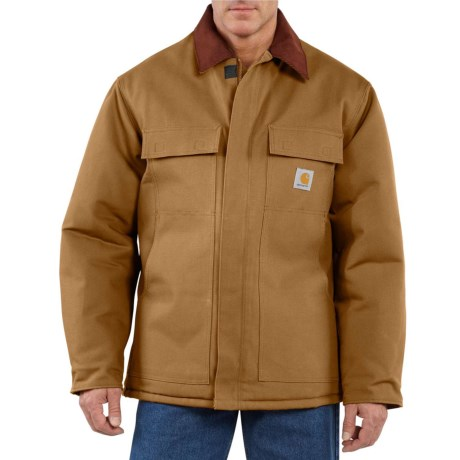 Carhartt Traditional Duck Work Coat - Insulated, Arctic Lining, Factory Seconds (For Men)