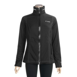 Columbia Sportswear Pave the Way Rain Jacket - Waterproof, Titanium (For Women)