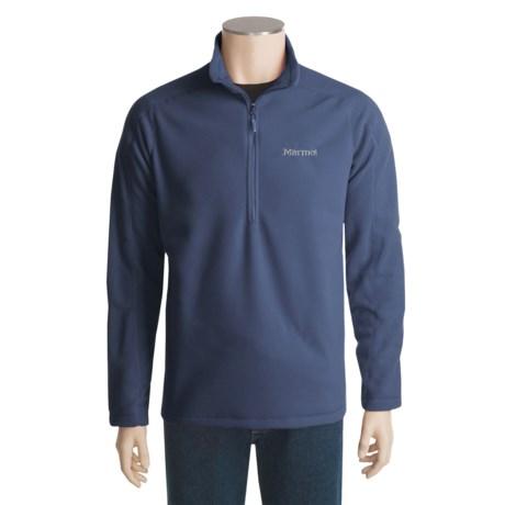 Marmot Rocklin Fleece Pullover Shirt - Zip Neck, Long Sleeve (For Men)