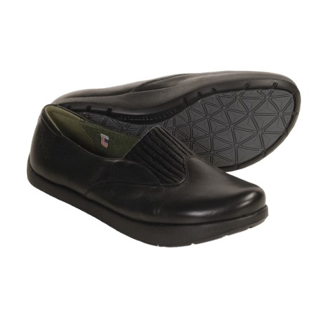 Earth Frida Shoes - Leather Slip-Ons (For Women)
