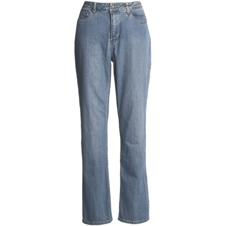 Five-Pocket Denim Jeans - Bootcut (For Women)