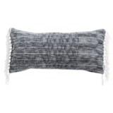 """Artisan de Luxe Chenille Stripe Decor Pillow - 17x35"""""""