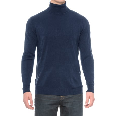 Specially made Solid Turtleneck Sweater (For Men)