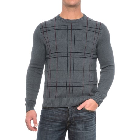 Specially made Patterned Crew Neck Sweater (For Men)