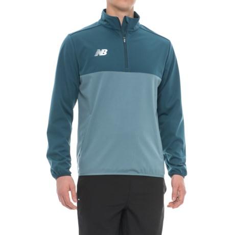 New Balance TT Jacket - Zip Neck (For Men)