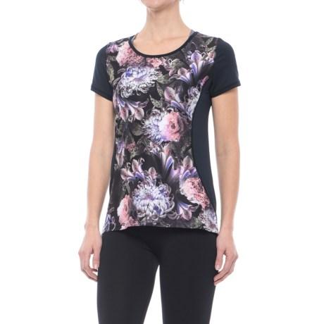 Nanette Lepore Mesh-Back Active T-Shirt - Short Sleeve (For Women)