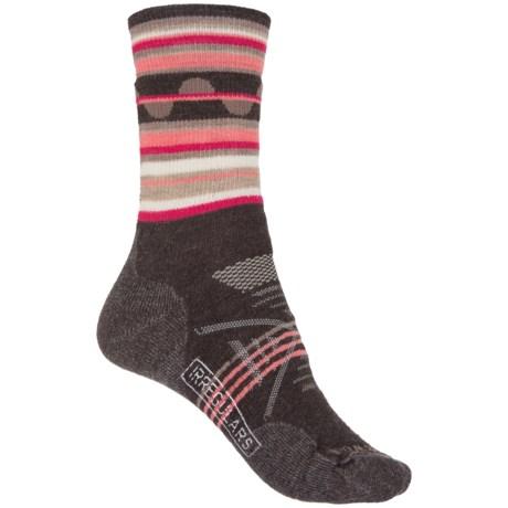 SmartWool PhD Outdoor Medium Pattern Socks - Merino Wool, Crew (For Women)