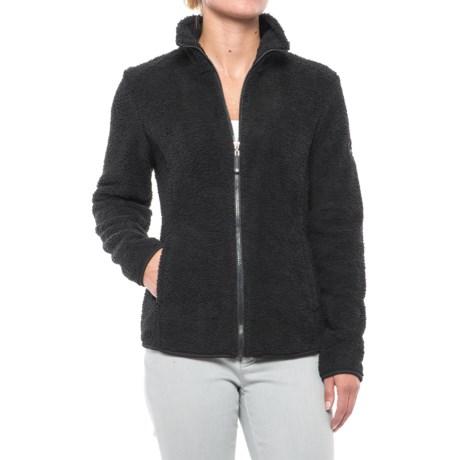 HFX Sherpa Fleece Jacket - Full Zip (For Women)