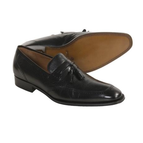 Mezlan Joel Tassel Shoes - Deerskin Loafers (For Men)