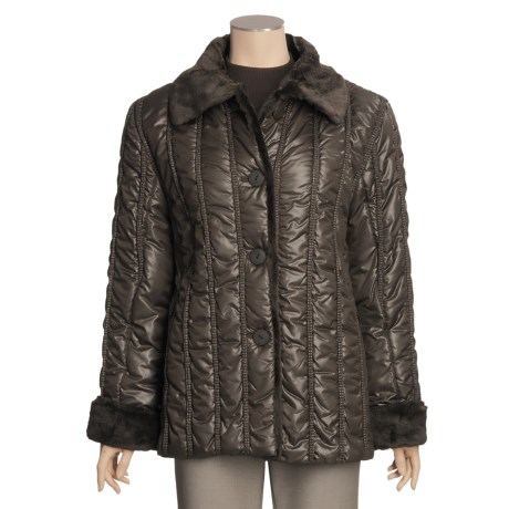 Regent Park Quilted Cire Jacket (For Women)