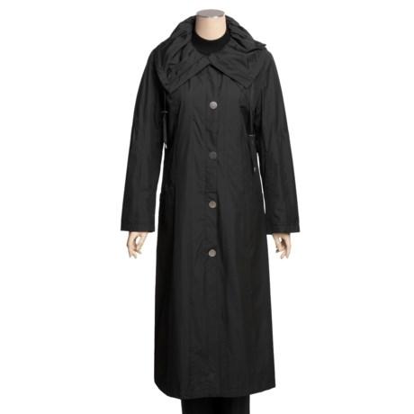Regent Park Full-Length Raincoat (For Women)