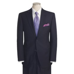 Jack Victor Beaded Stripe Suit - Wool (For Men)