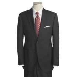 Jack Victor Beaded Alternating Stripe Suit - Wool (For Men)