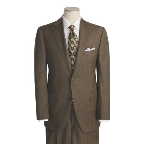 Jack Victor Tic Weave Suit - Wool (For Men)