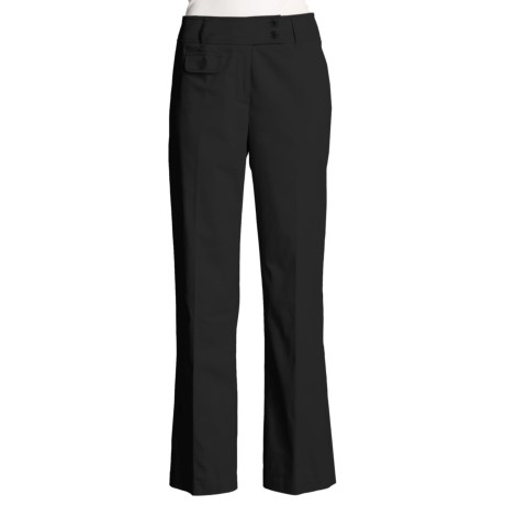 Tribal Sportswear Contour Waist Pants - Smooth Back, Stretch Cotton (For Women)
