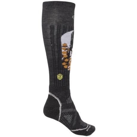 SmartWool PhD Ski Midweight Charley Harper Socks - Merino Wool, Over the Calf (For Women)