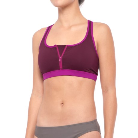 Carve Designs Fisher Bikini Top - UPF 50, Removable Padded Cups, Racerback (For Women)
