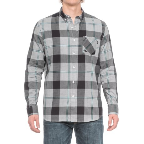 Oakley Shred Woven Shirt - Long Sleeve (For Men)