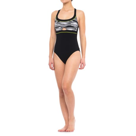 Profile Sports by Gottex Crossover One-Piece Swimsuit - UPF 50+ (For Women)