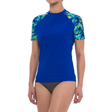 Profile Sports by Gottex Profile Sport by Gottex Rash Guard - UPF 50+, Short Sleeve (For Women)