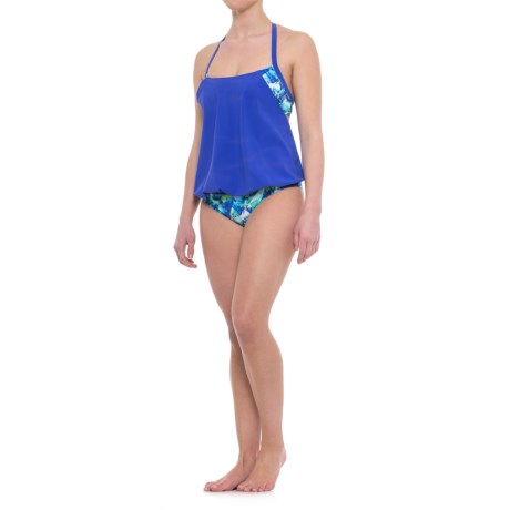 Profile Sports by Gottex Blouson Tankini Set - UPF 50+ (For Women)