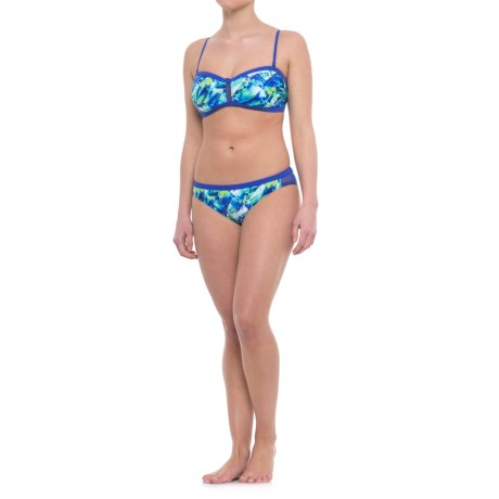 Profile Sports by Gottex Pacific Bandeau Bikini Set - UPF 50+ (For Women)