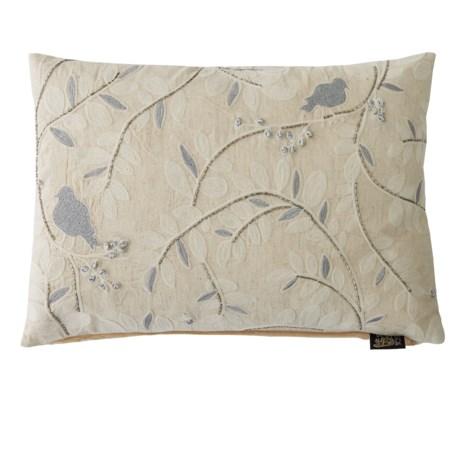 "Devi Designs Lady Bird Decor Pillow - 14x20"""
