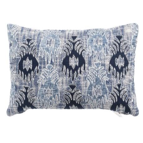 """Devi Designs Lanny Applique Decor Pillow - 14x20"""""""