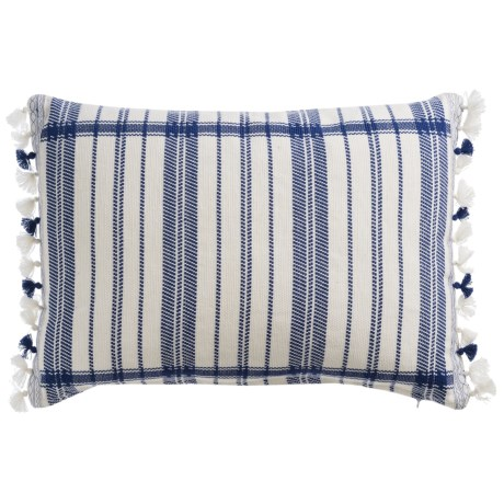 Devi Designs Twilight Decor Pillow with Tassels- 14x20""