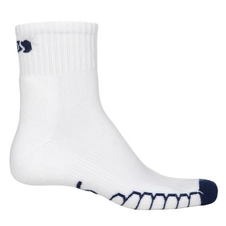 Eurosock Slam SILVER DryStat® Socks - Quarter Crew (For Men and Women)