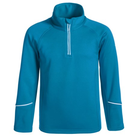 Dare 2b Ricochet Core Stretch Fleece Jacket - Zip Neck (For Little and Big Girls)