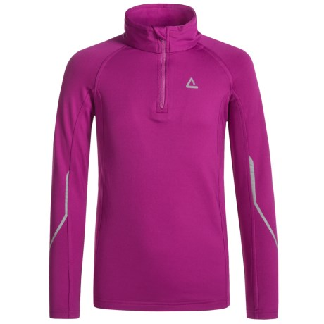 Dare 2b Diverted Core Stretch Fleece Shirt - Long Sleeve (For Little and Big Girls)