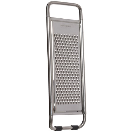 Browne Essentials Stainless Steel Extra-Fine Flat Grater