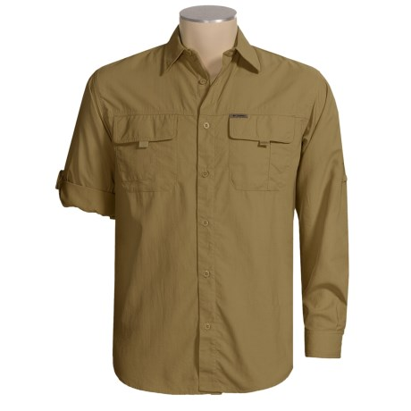 Columbia Sportswear Silver Ridge II Shirt - Titanium, UPF 50, Long Sleeve (For Men)