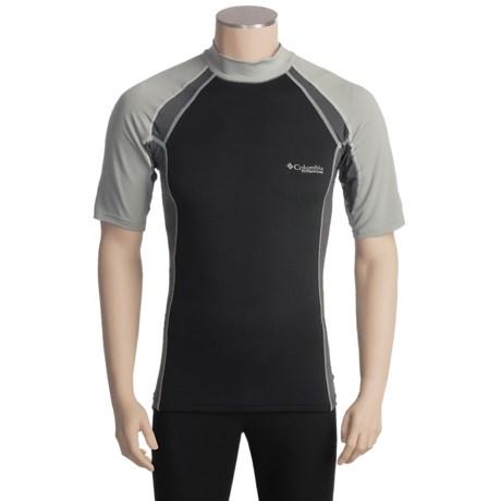 Columbia Sportswear Backpaddle Shirt - Titanium, UPF 50, Short Sleeve (For Men)