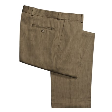 Newbridge by Ballin Heather Pants - Flat Front (For Men)