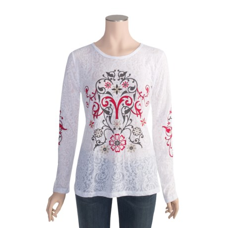 Aventura Clothing Maisie Burnout Shirt - Long Sleeve (For Women)