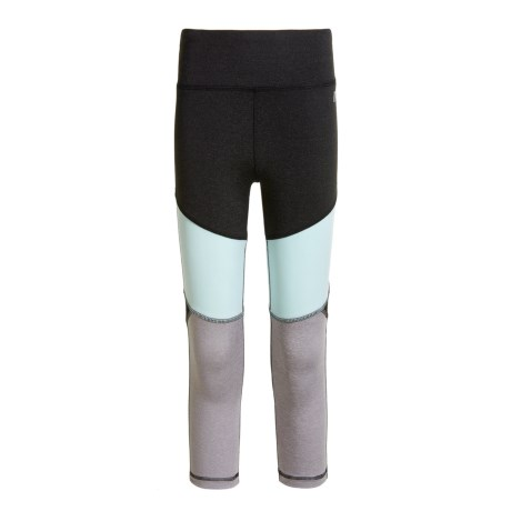 Marika Color-Block Cut-and-Sew Leggings (For Big Girls)