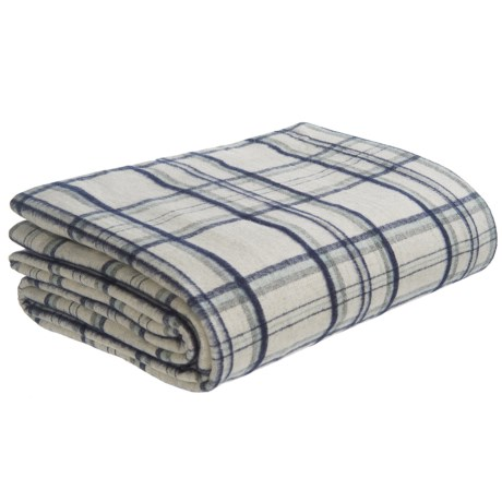 Peacock Alley Heathered Flannel Blanket - Queen
