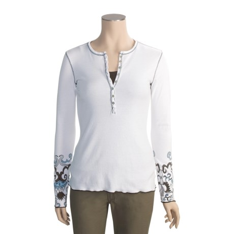 Aventura Clothing Haight Henley Shirt - Long Sleeve (For Women)