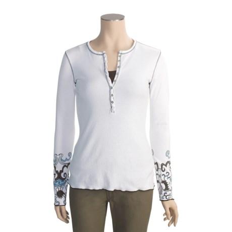Aventura Clothing Haight Henley Shirt - Long Sleeve (For Women)