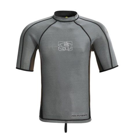 Body Glove Super Rover Rash Guard - 1mm, Reversible, Short Sleeve (For Men)