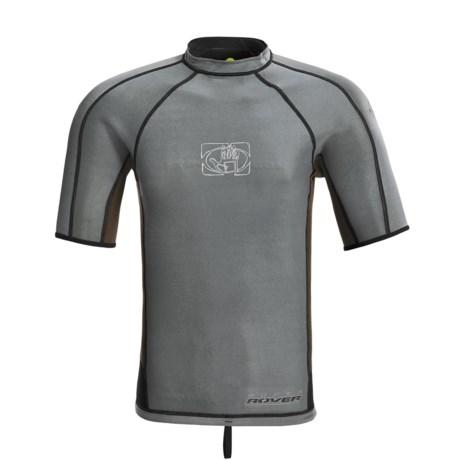 Body Glove Super Rover Rash Guard - 1mm, Reversible, Short Sleeve (For Men)