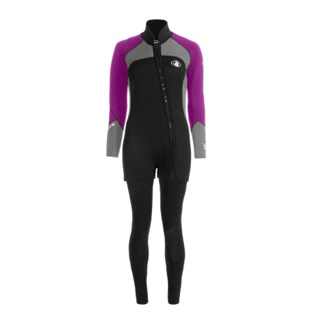 Body Glove X2 Combo Diving Wetsuit - 5mm, John and Jacket Combo (For Women)